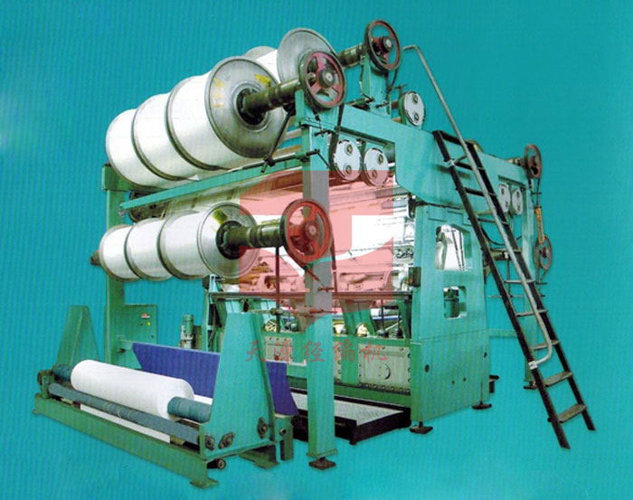 TY288 Medium plush double needle bar raschel machine
